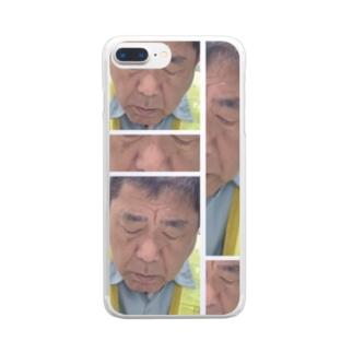 ふるじい Clear smartphone cases