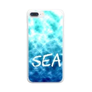 深海 Clear Smartphone Case