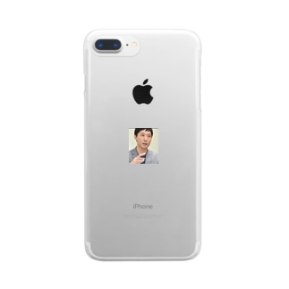 クリアスマホケース Clear smartphone cases