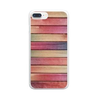 色の木 Clear smartphone cases
