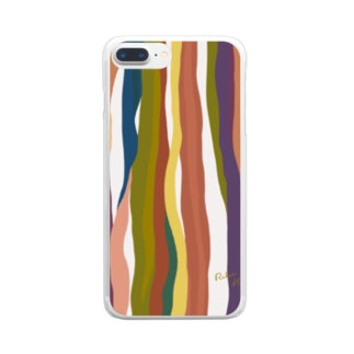 su_na_me_riのtree trunk R Clear smartphone cases