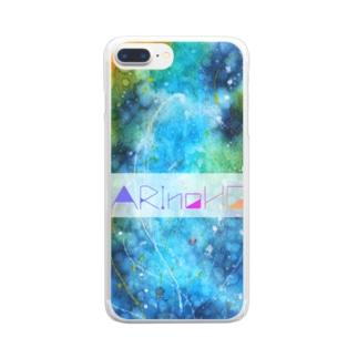 アクアリウム Clear smartphone cases