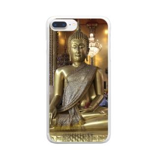 仏1 Clear smartphone cases