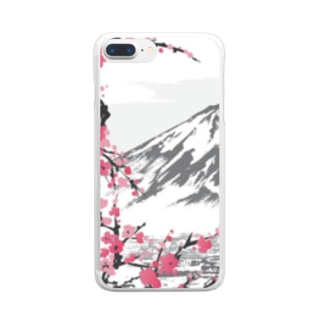 JAPAN STYLE Clear smartphone cases