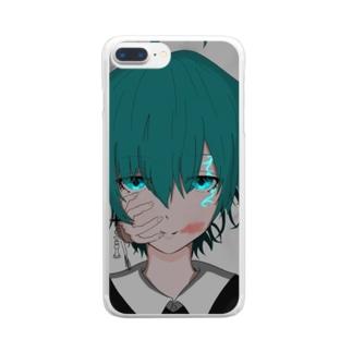 最底辺 Clear smartphone cases