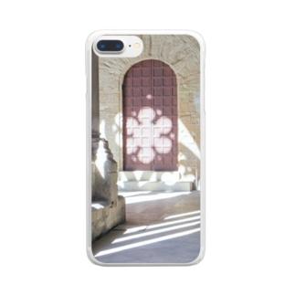 草笛鈴 / RIN KUSABUEの教会の回廊 Clear smartphone cases