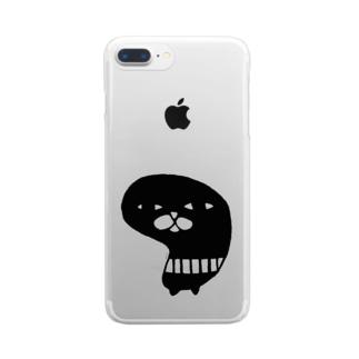 シラトリサン Clear smartphone cases