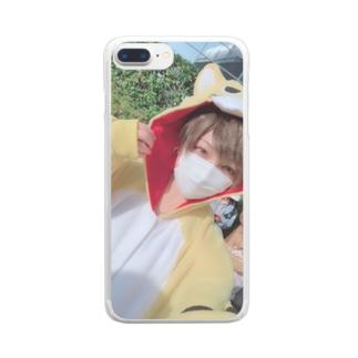 ゆりな専用iPhoneケース Clear smartphone cases