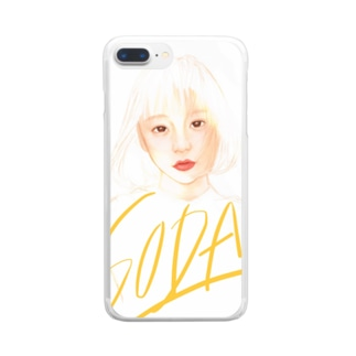 SODA Clear smartphone cases