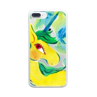 unicorn2018のu187 Clear smartphone cases