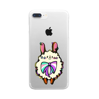 OMP2020 ピンキーTシャツ Clear smartphone cases