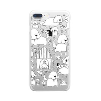 いぬけんいぬけん! Clear smartphone cases