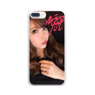 嬢帝スマホケース Clear smartphone cases