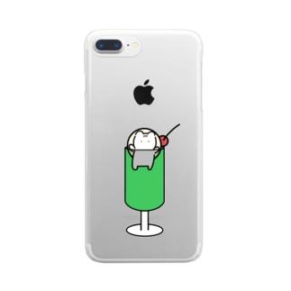 クラハムソーダ Clear smartphone cases