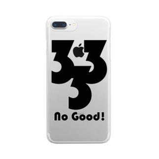新型コロナ対策 3密グッズ Bタイプ Clear smartphone cases