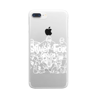 silver fox ALLSTAR Clear smartphone cases