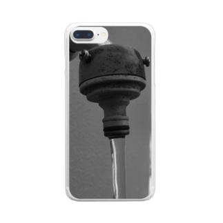 真水 Clear smartphone cases