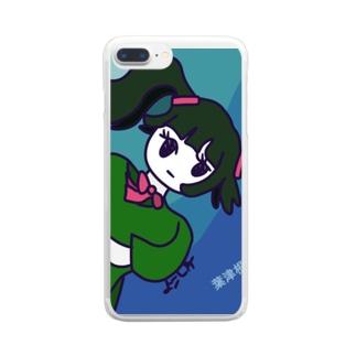葉津根深久2 Clear smartphone cases