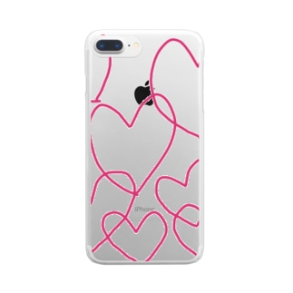 Heart Clear smartphone cases