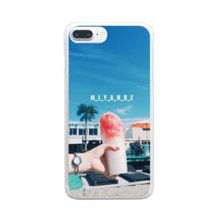常夏🍧 Clear smartphone cases