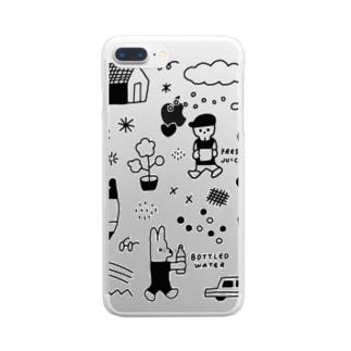 ぶれいくたいむ Clear smartphone cases