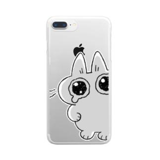 """み""""… Clear smartphone cases"""
