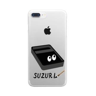 スズリくん Clear smartphone cases