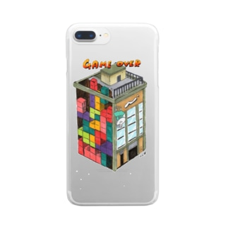 ヨシサコツバサのゲームオーバー Clear smartphone cases