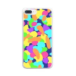 あたまのなか Clear smartphone cases