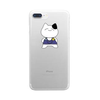 すーぱーぬっこ Clear smartphone cases