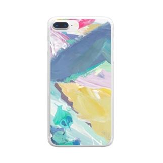 8月 Clear smartphone cases