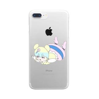 カラフルイントネーション Clear smartphone cases