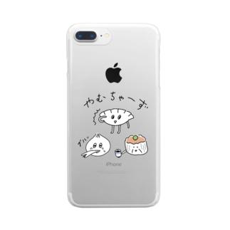 やむちゃーず2 Clear smartphone cases
