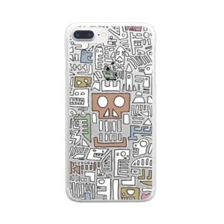 hekiga Clear smartphone cases