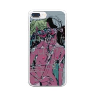 アダムとアダム、イヴとイヴ愛あれ Clear smartphone cases