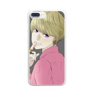 Secret Clear smartphone cases