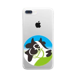 サンデール ロゴマーク Clear smartphone cases