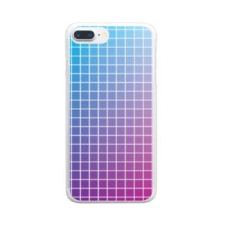 カラーチャート Clear smartphone cases