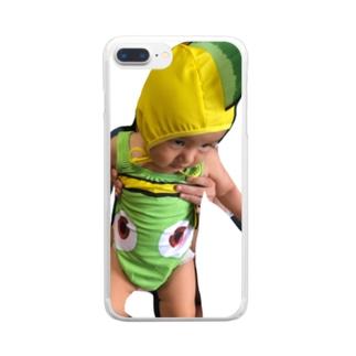 ダンニモ Clear smartphone cases