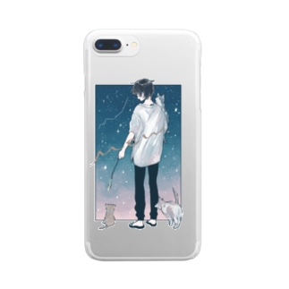 mew Clear smartphone cases