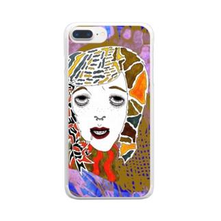 渋谷 Clear smartphone cases