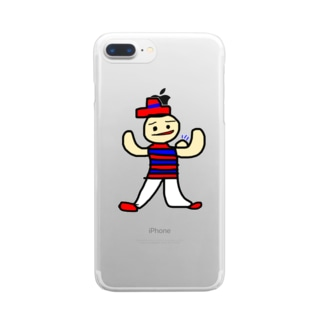 Ludovico techniques 筋肉 Clear smartphone cases