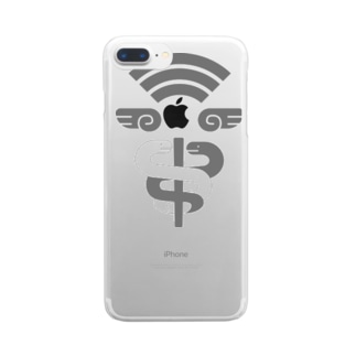 Free Wifi by Hermes Clear smartphone cases