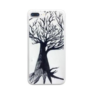 ふぉれすと Clear smartphone cases