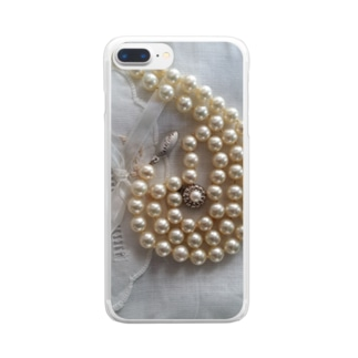 pearlⅩⅥ Clear smartphone cases