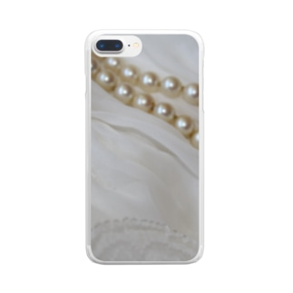 PearlⅩⅦ Clear smartphone cases