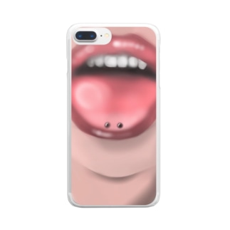 👅 Clear smartphone cases