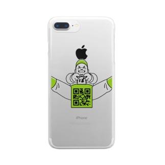 ぽてと君 Clear smartphone cases