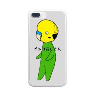 インコおじさんA Clear smartphone cases