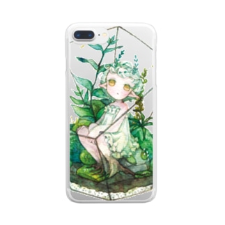 箱庭の君 Clear smartphone cases
